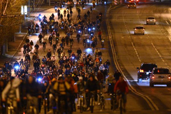 Объявлена дата 3-го Ночного Велопарада в столицеРФ