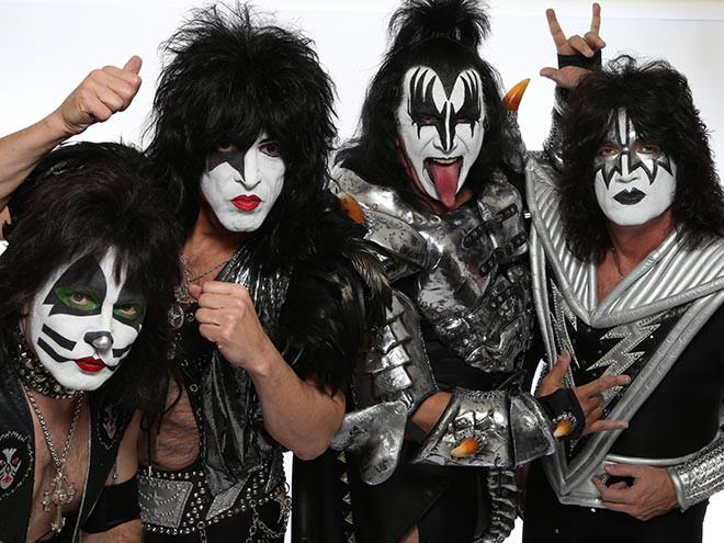 Штатская рок-группа Kiss выступит в российской столице 1мая 2017г.