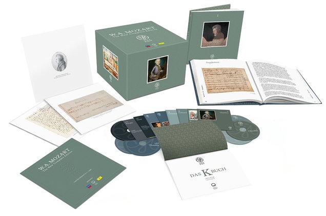 Собрание сочинений Моцарта стало самым продаваемым CD-релизом в нынешнем 2016 году