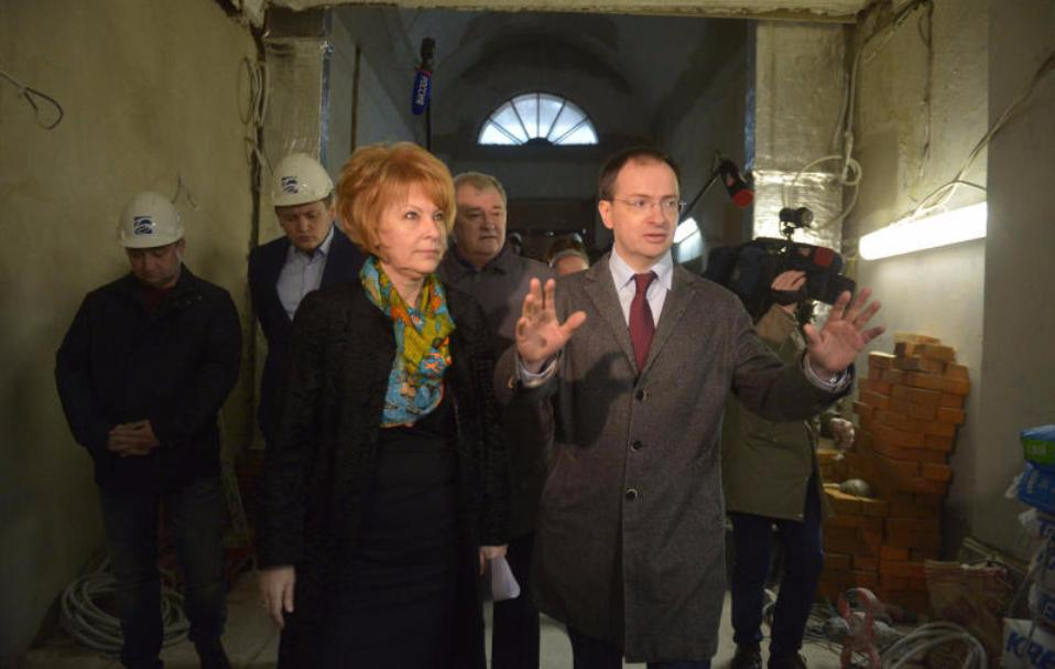 Историческое сооружение Малого театра откроется 19декабря