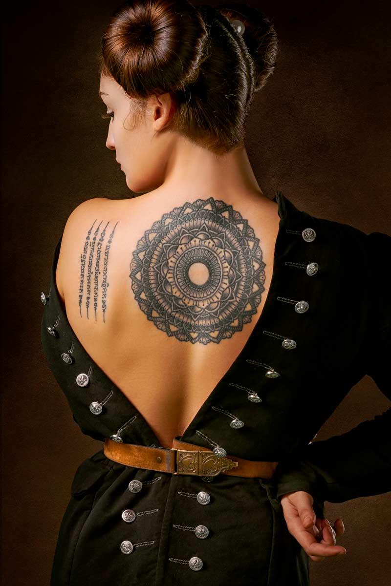 модное тату