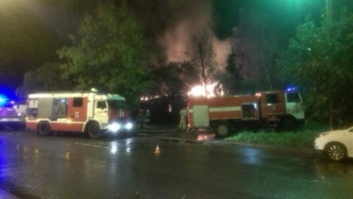 Хозяин квартиры умер впожаре наюге столицы
