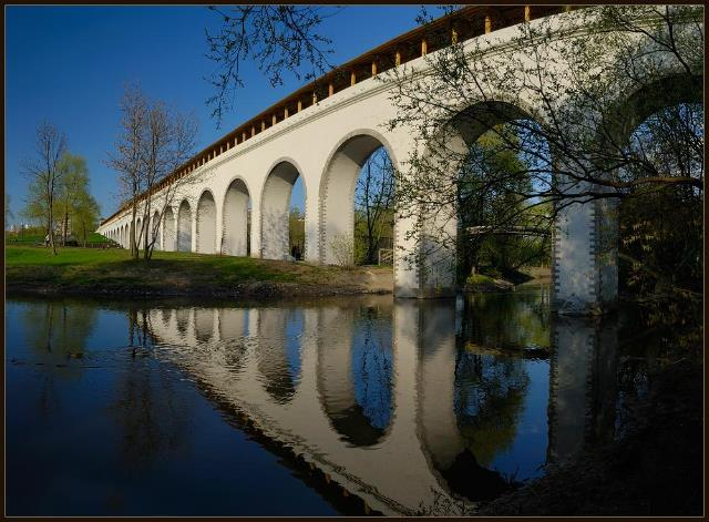 Парк уРостокинского акведука в столице благоустроят