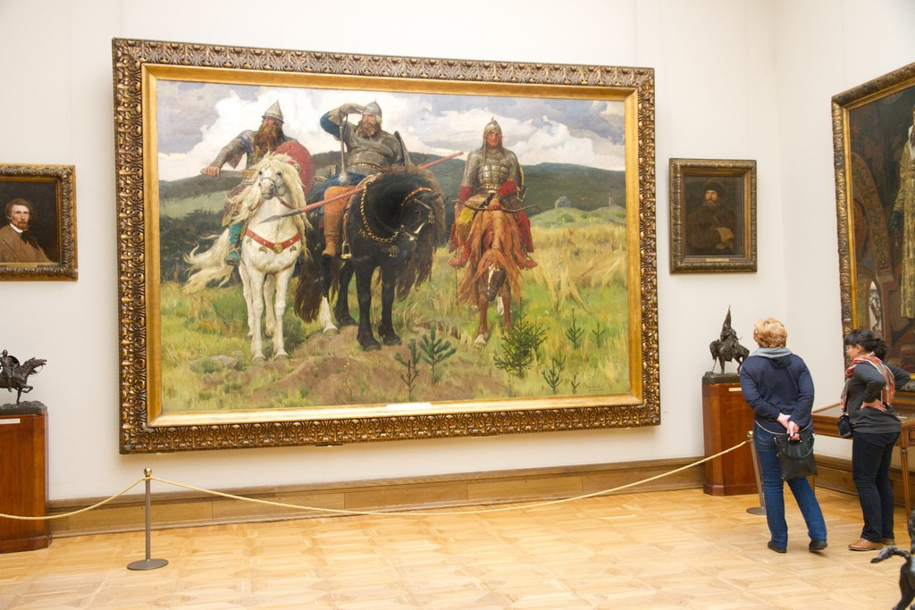 Вовремя «Ночи искусств» Третьяковская галерея будет работать бесплатно