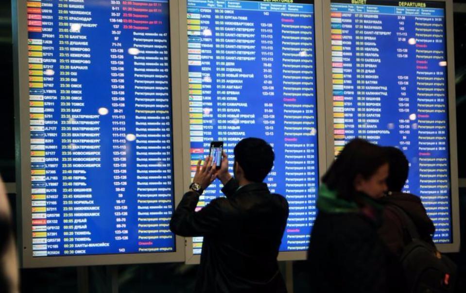Неменее 70 рейсов задержаны в столичных аэропортах