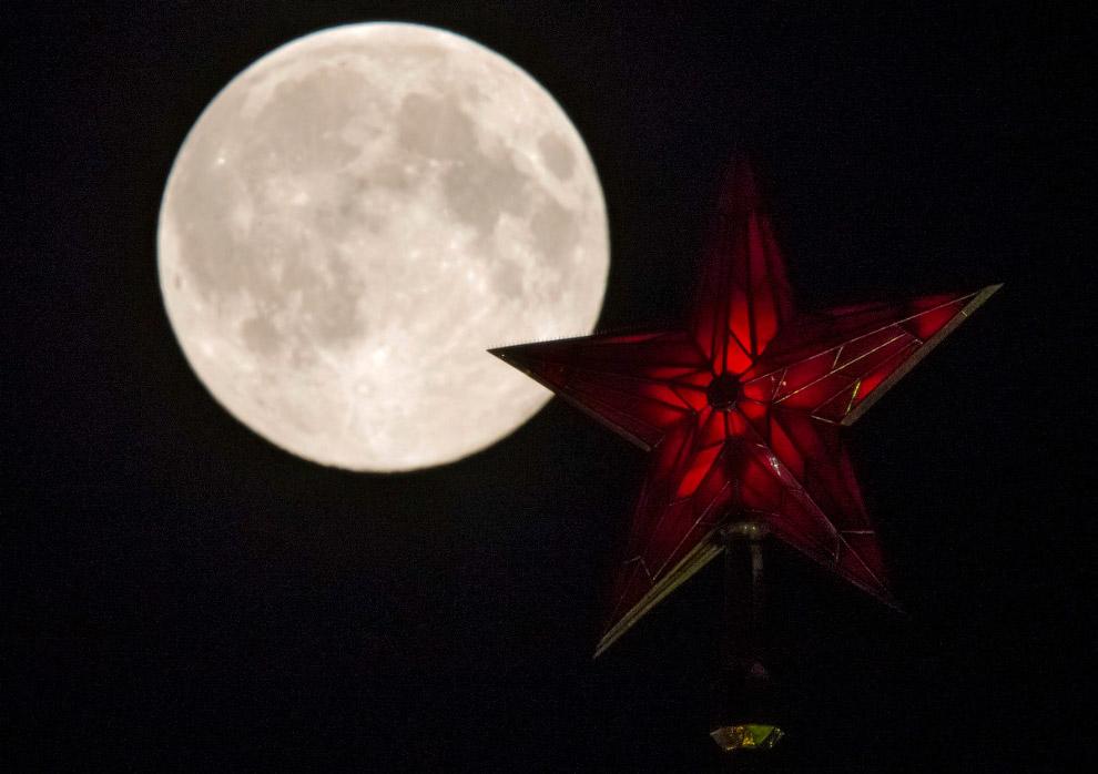 Москвичи смогут наблюдать первое внынешнем году суперлуние 16октября