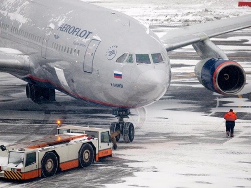 «Аэрофлот» отменил рейсы в российскую столицу из-за плохой погоды