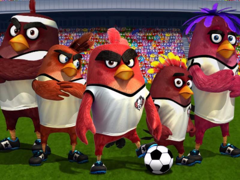 Сыграть вфутбольных Angry Birds смогут москвичи в«Лужниках»