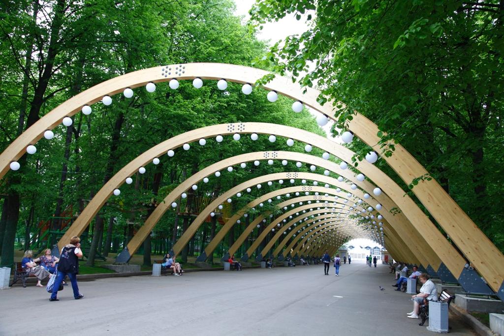 К осени в Москве появятся 2 новых парка