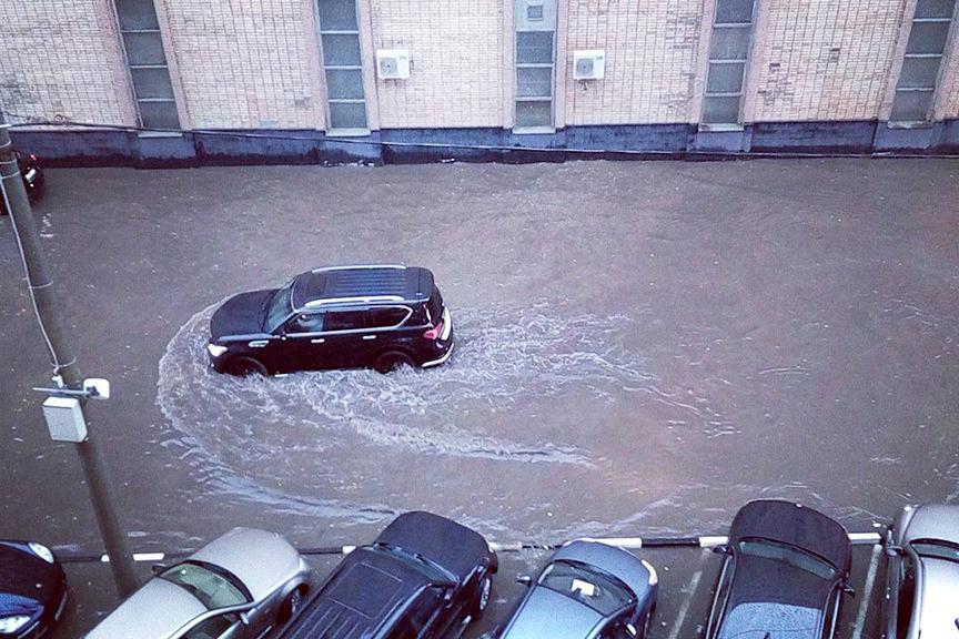 Нанеделе столицу Российской Федерации ожидает новый потоп— засутки выпадет треть нормы августа