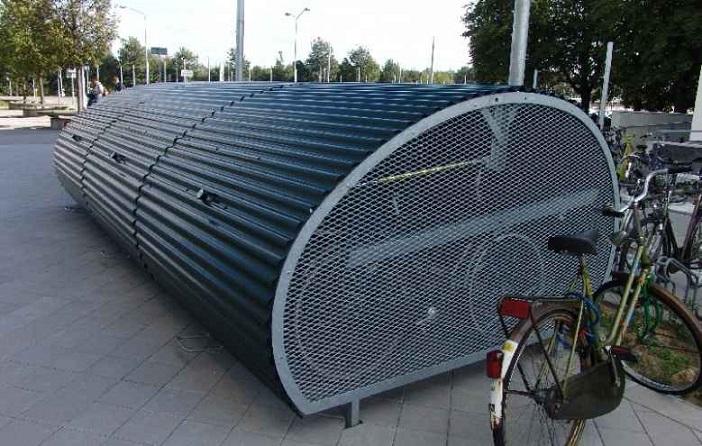 Устанций МЦК появятся велобоксы для хранения велосипедов