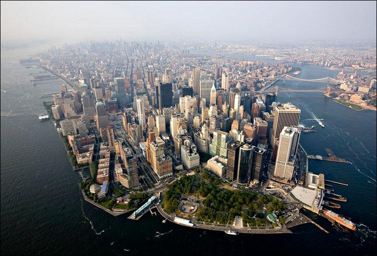 Взрыв вцентре Нью-Йорка