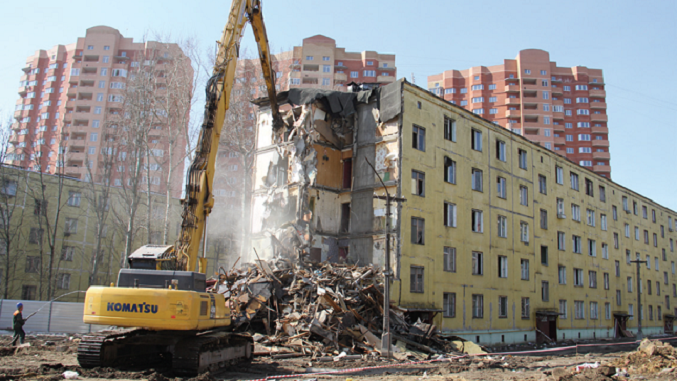 Парламентская оппозиция подготовила поправки впроект закона осносе домов в столице