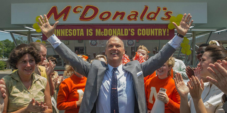 Вышел трейлер фильма «Основатель» осоздании сети McDonald's