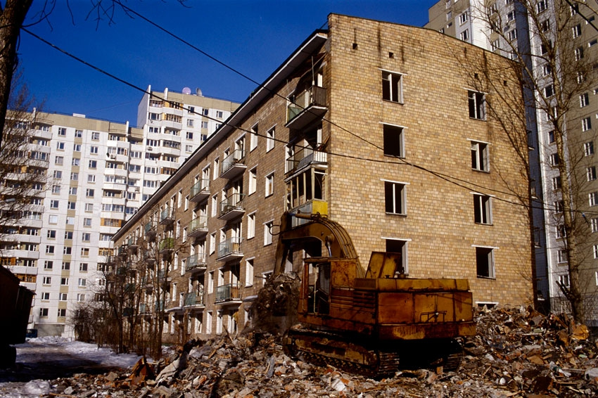 Совет Государственной думы РФобсудит сСобяниным снос пятиэтажек в столице России