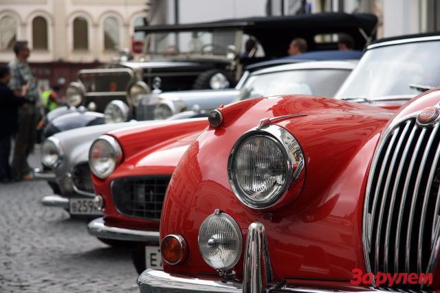 В столице России пройдет ралли старинных авто
