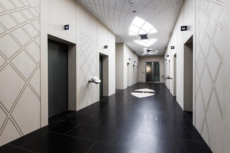 Вделовом центре «Москва-Сити» запустили самый высотный лифт вевропейских странах
