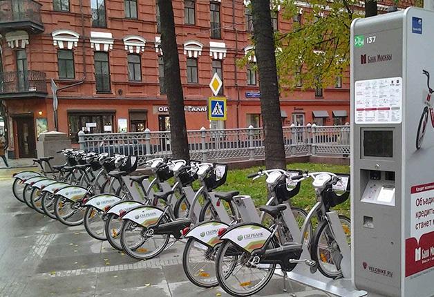 Велопрокатный сезон в столице стартует 25апреля