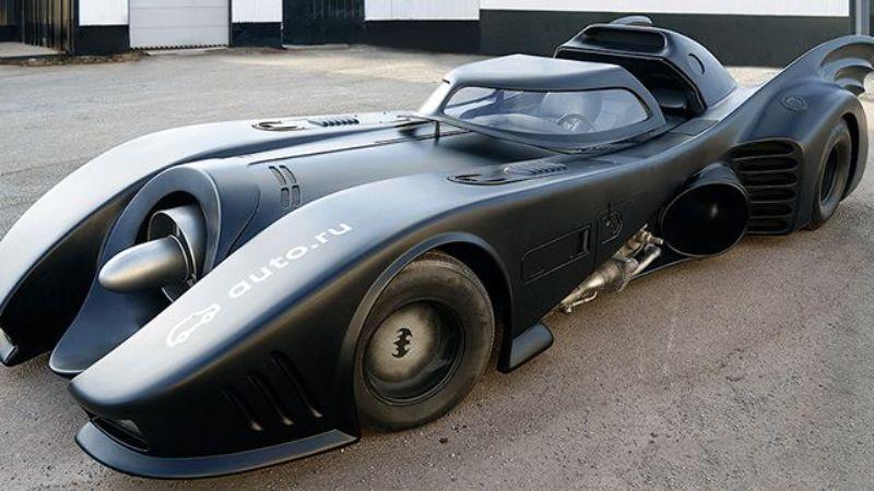 В России продают подлинный бэтмобиль за 1 млн евро