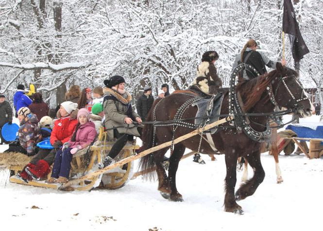 Экоцентр «Конный двор» вИвановском подготовил для гостей «Новогоднюю сказку»