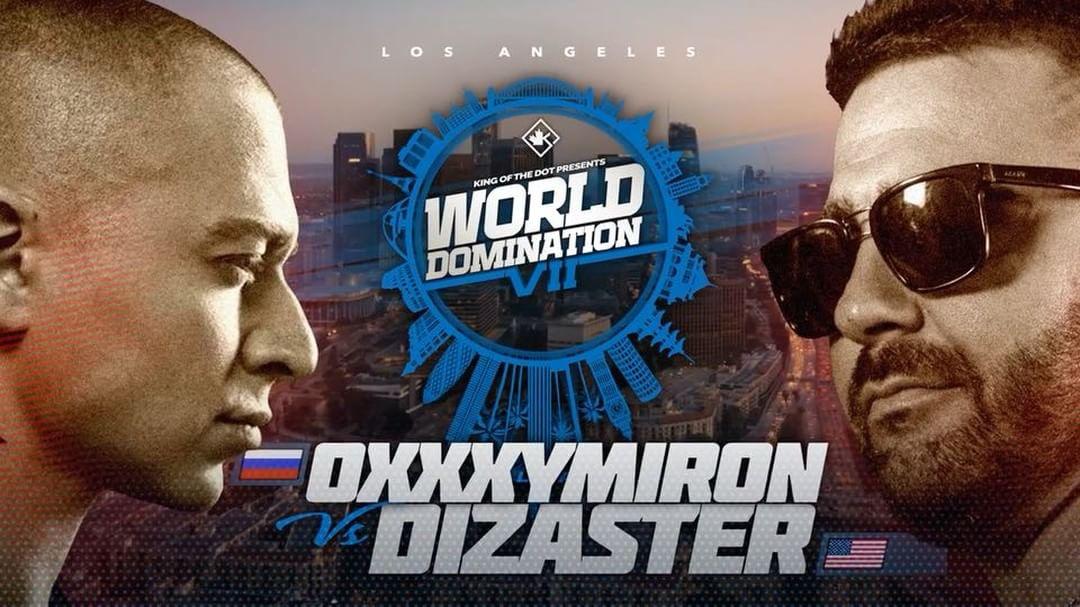 Рэперы Oxxxymiron иDizaste сразились вЛос-Анджелесе