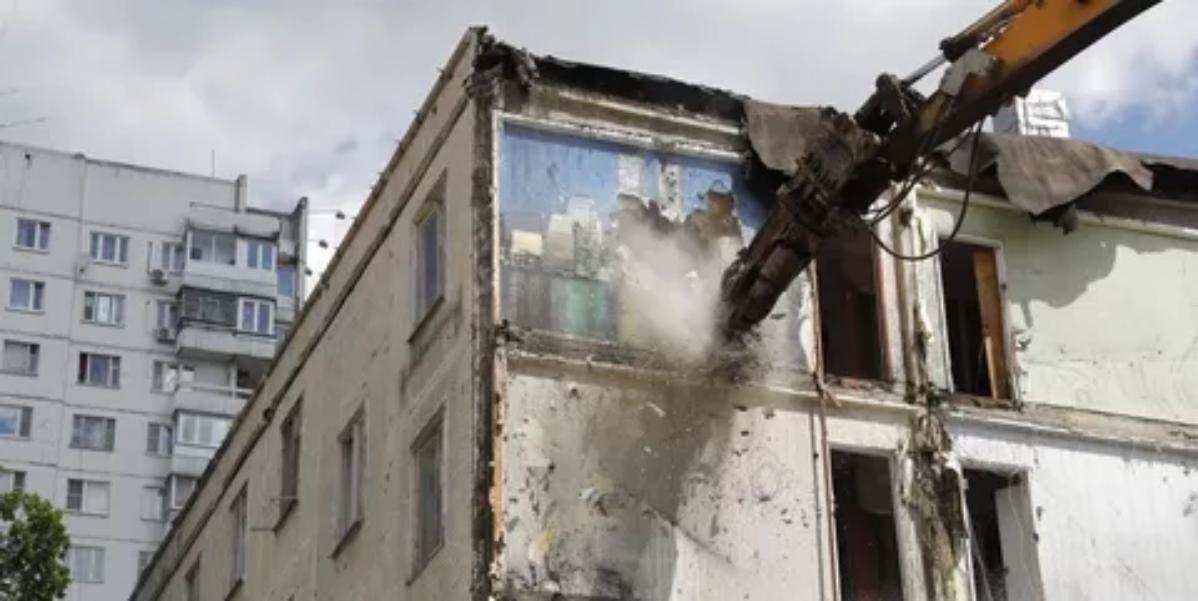 Три пятиэтажки «первой волны» осталось снести наюго-западе столицы