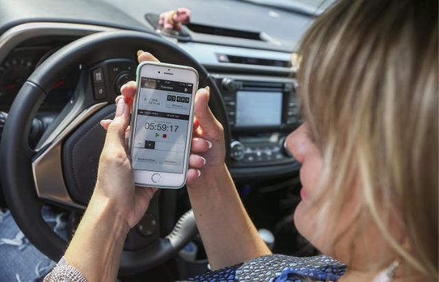 В столице временно нереально пополнить парковочный счет через СМС либо мобильное приложение