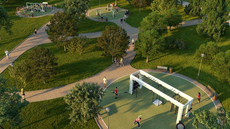 Парк «Сад будущего» открылся встолице после благоустройства
