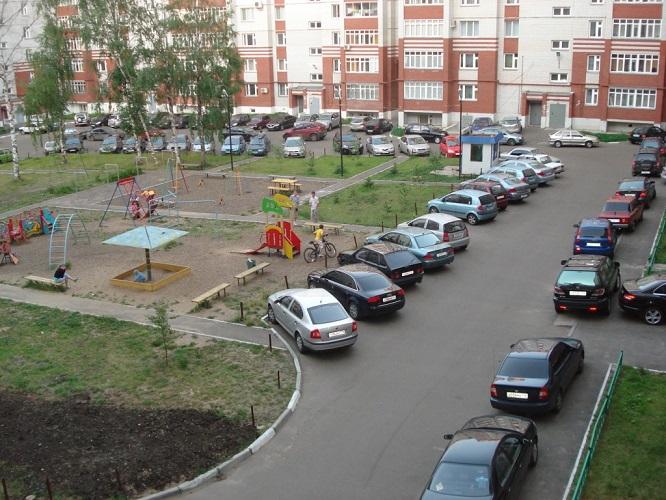 В столице произошла драка из-за парковки