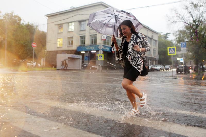 Сильнейший запоследние сто лет ливень ожидается в столице