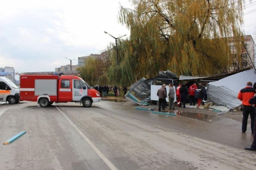 В российской столице машина сбила четверых наостановке