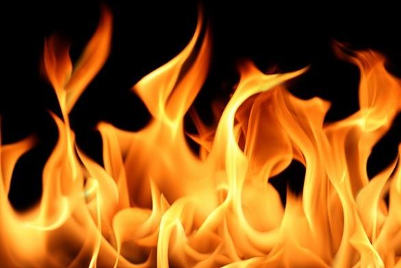 ВПодмосковье произошел пожар накрытом рынке