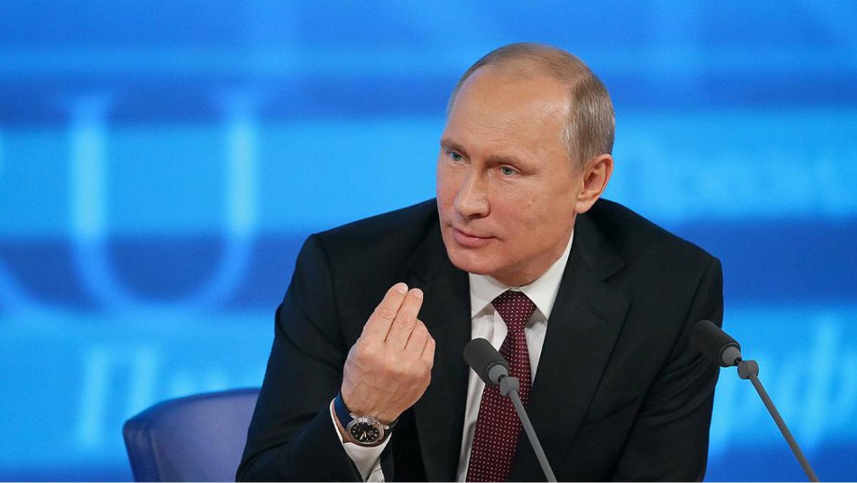 Деятельностью В. Путина удовлетворены 82% жителей