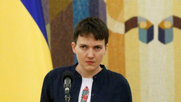 Савченко обратилась кроссиянам: РФ, опасаешься?
