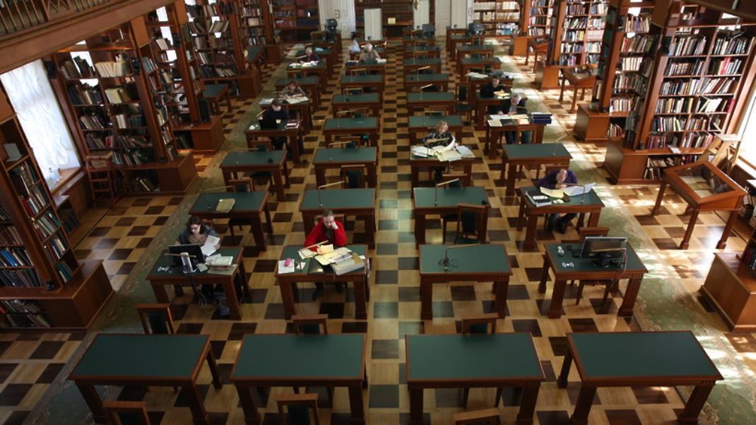 В столице эвакуировали гостей иперсонал библиотеки имени Ленина