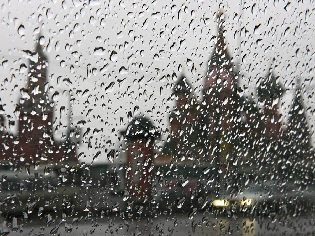 Погода в российской столице отстает откалендаря намесяц