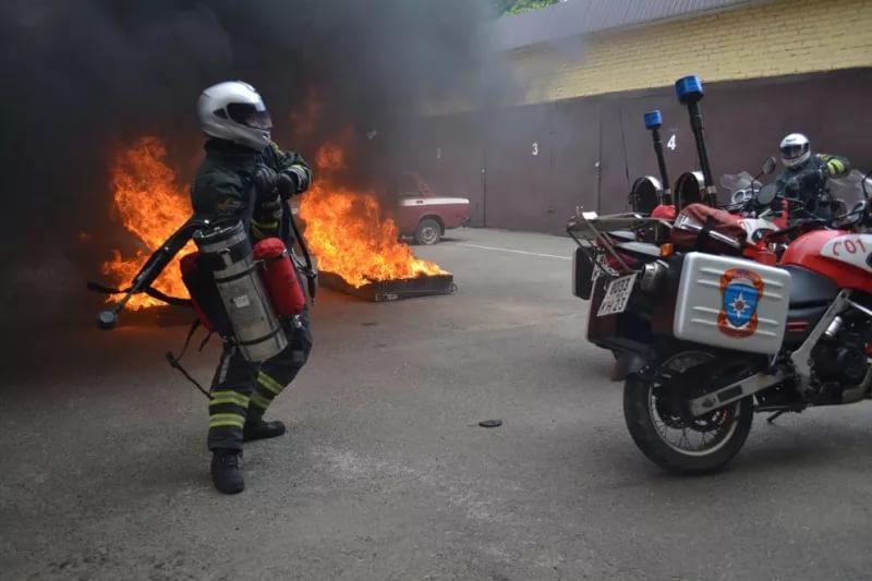 В столице России появятся пожарно-спасательные мотоциклы