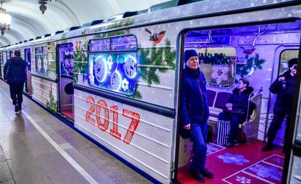 Публичный транспорт столицы будет работать всю новогоднюю ночь