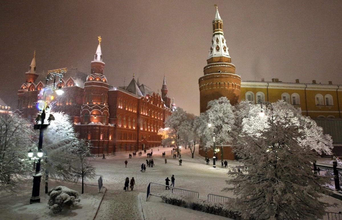 Морозы в российской столице усилились доминус 5-ти градусов