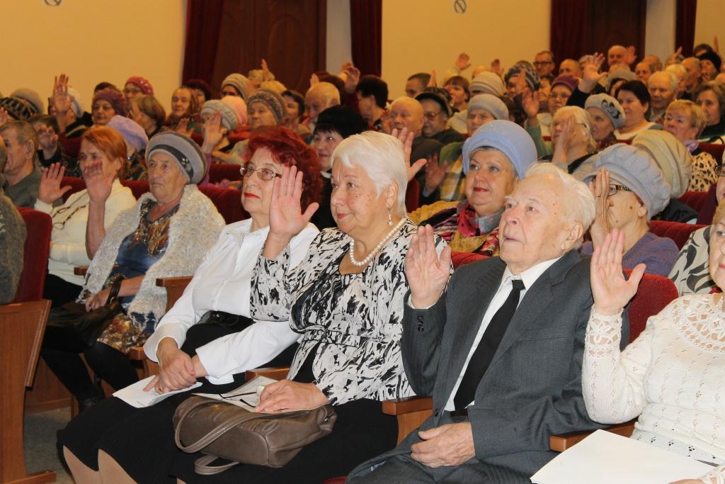 Сотрудники Совета ветеранов поселения Новофедоровское посетили окружной пленум