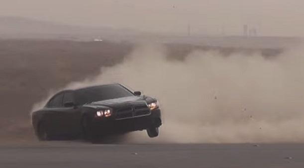 Мажор устроил намосковской дороге «арабский дрифт»