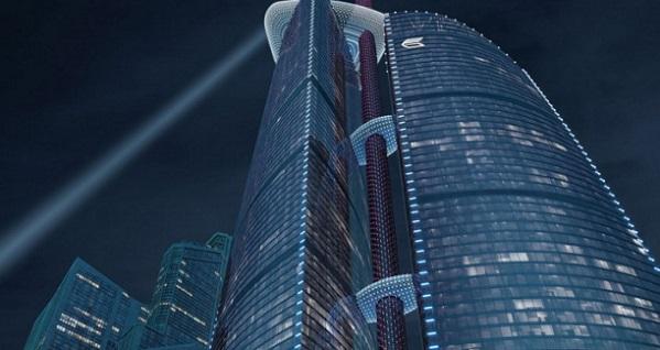 В «Москва-Сити» завершилось строительство самого высочайшего небоскреба вевропейских странах