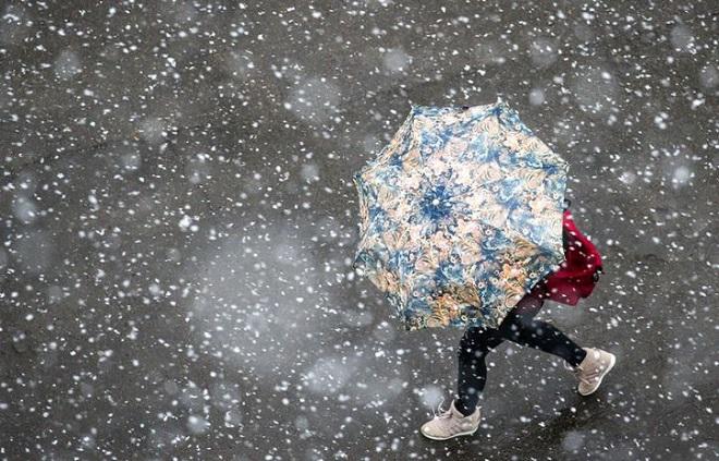 Москвичам назвали дату первого сильного снегопада встолице