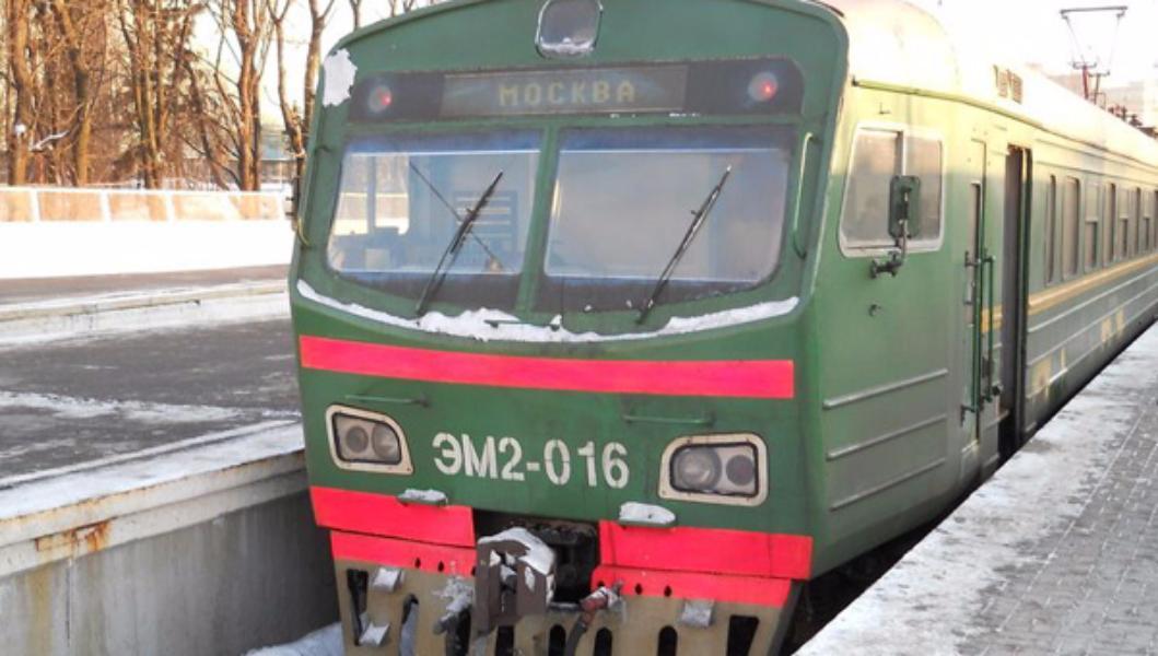 НаКурском направлении МЖД задержаны 12 электричек