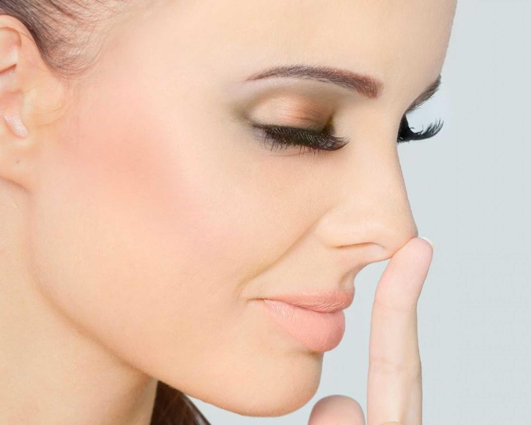 Как убрать кончик носа в домашних условиях