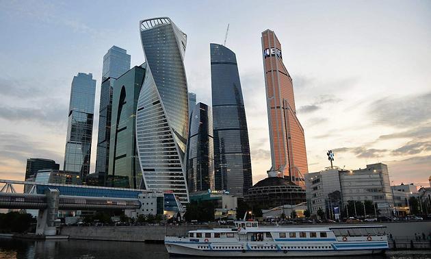 Учения МЧС проходят вбашне «Москва-Сити»