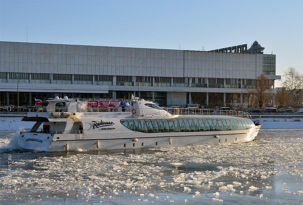 НаМоскве-реке открывается зимняя навигация