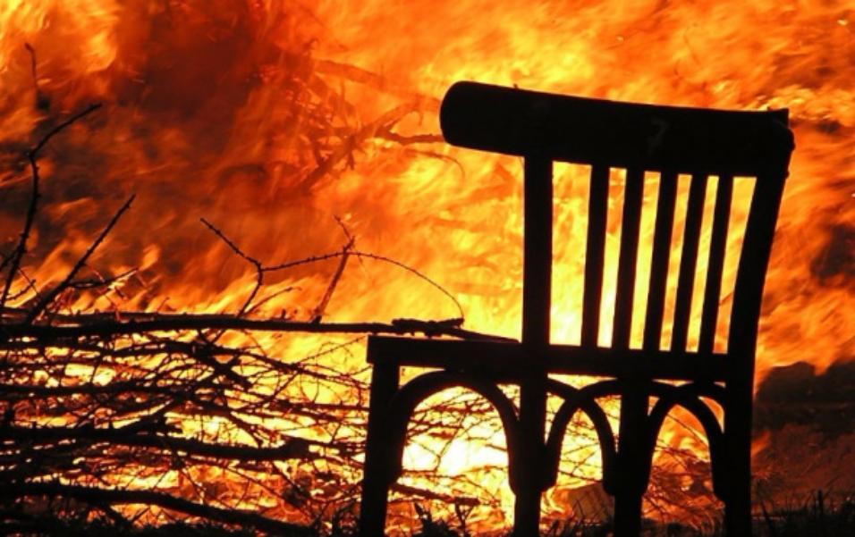 Встрашном пожаре вКарелии умер мужчина-инвалид, который немог ходить