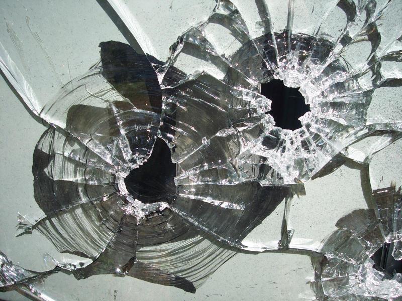 Насевере столицы молодые люди обстреляли пассажирский автобус