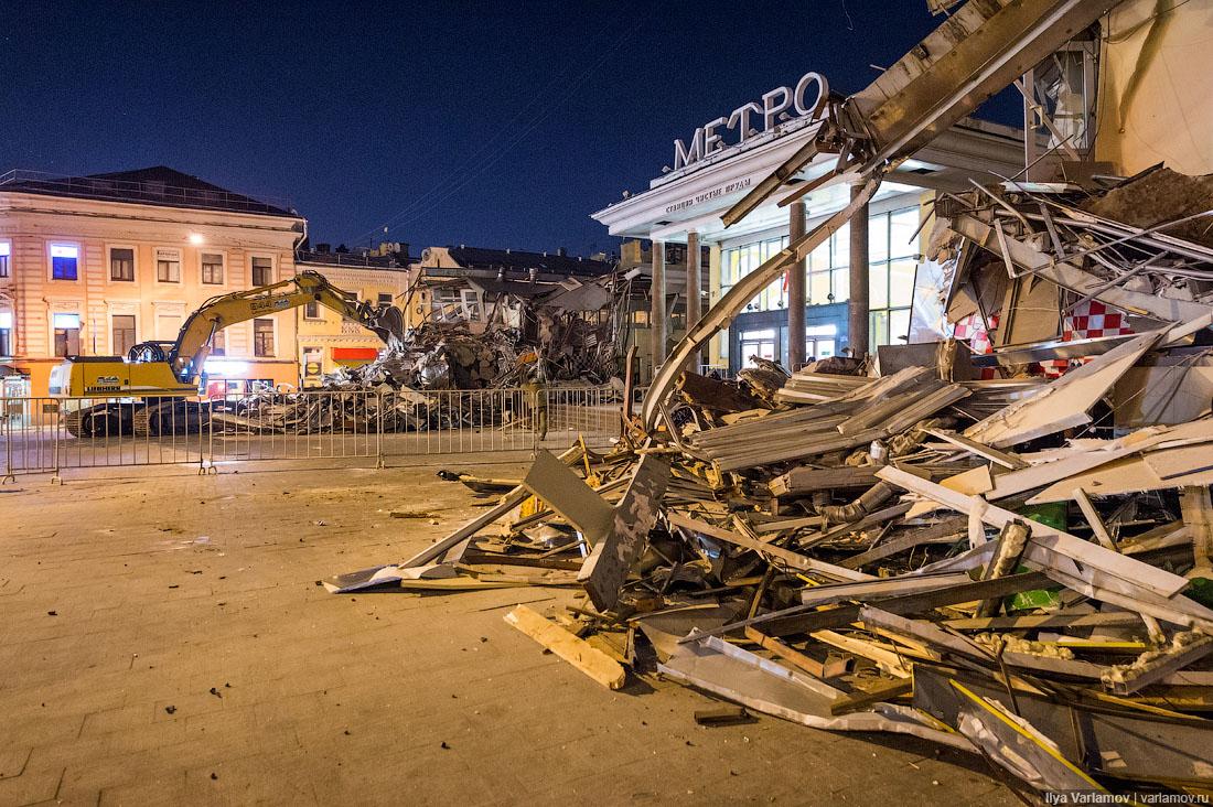Собственникам снесенных торговых объектов в столице России подарили некоторую надежду накомпенсации